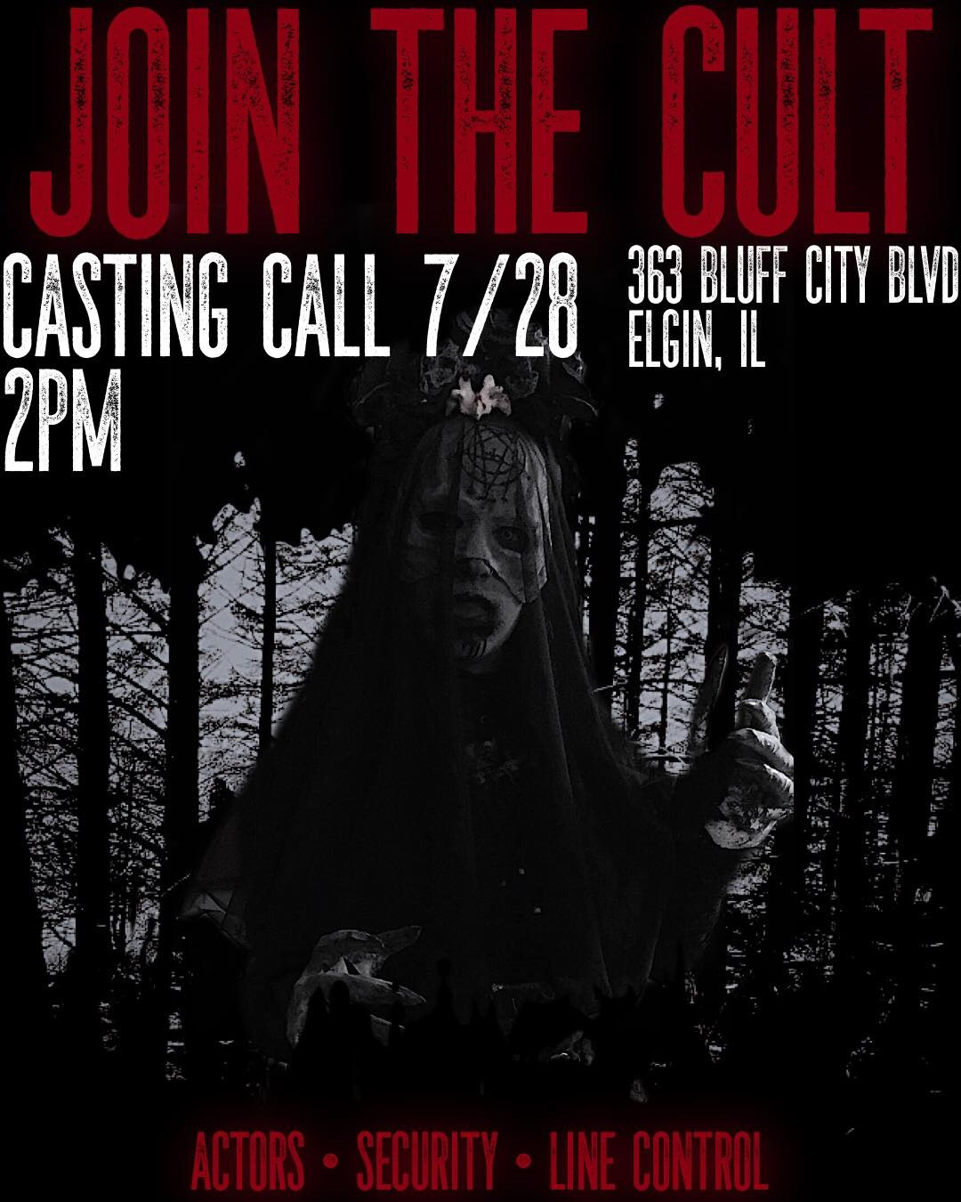 Casting Call Info - Blog - Evil Intentions Haunted House